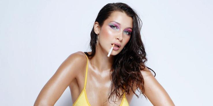Bella Hadid en la revista love