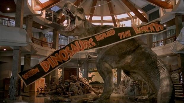 Escena Final de Jurassic Park