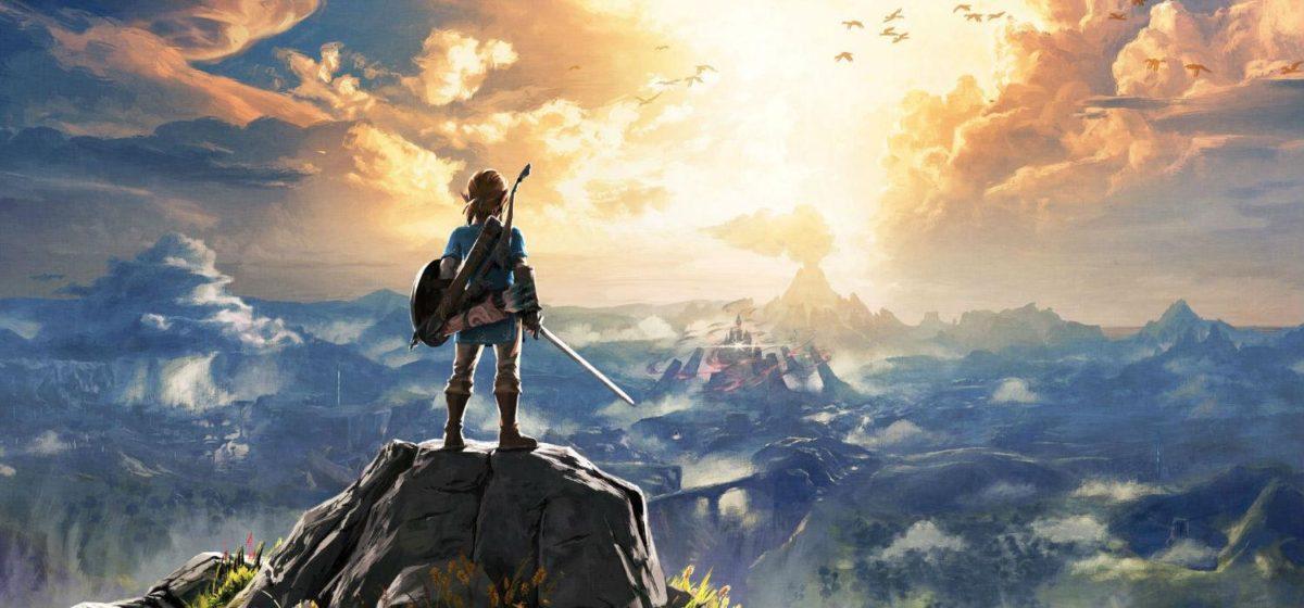 The Legend of Zelda Breath of the Wild arte