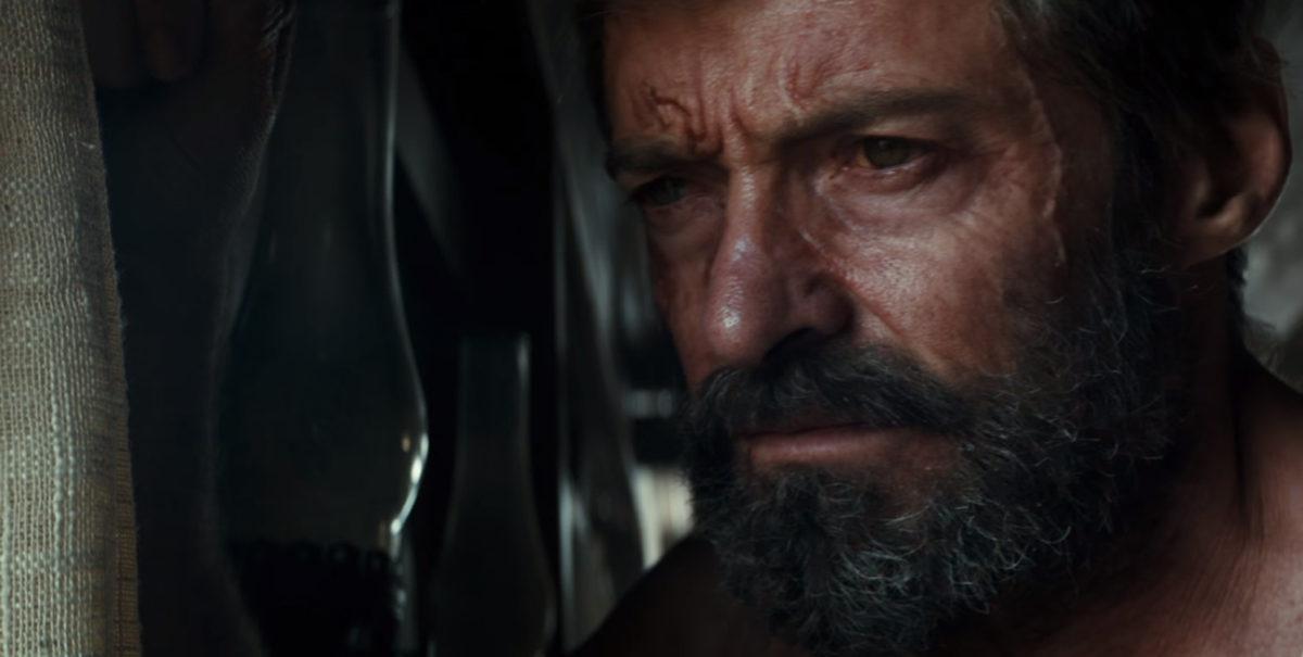 Hugh Jackman como Wolverine en Logan
