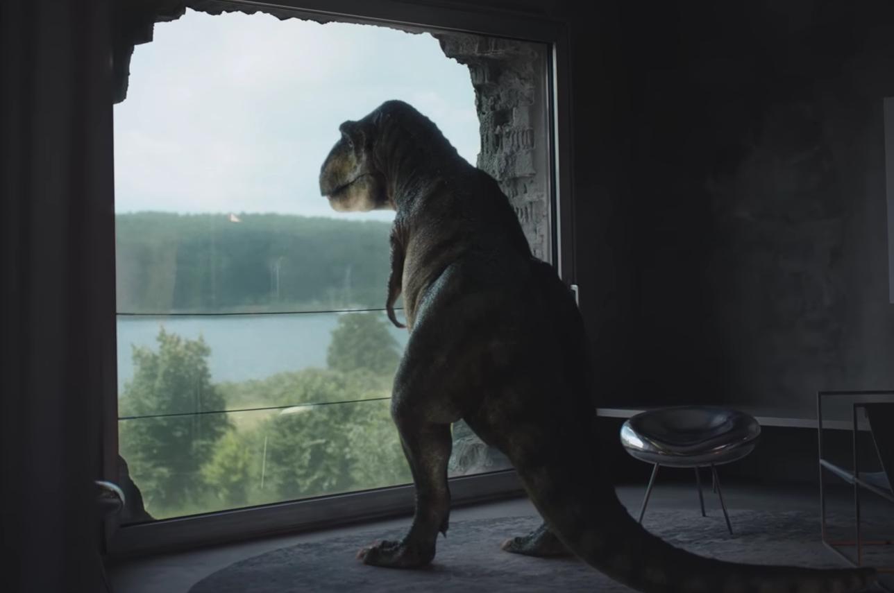 T-Rex aparece muy deprimido en un comercial de Audi