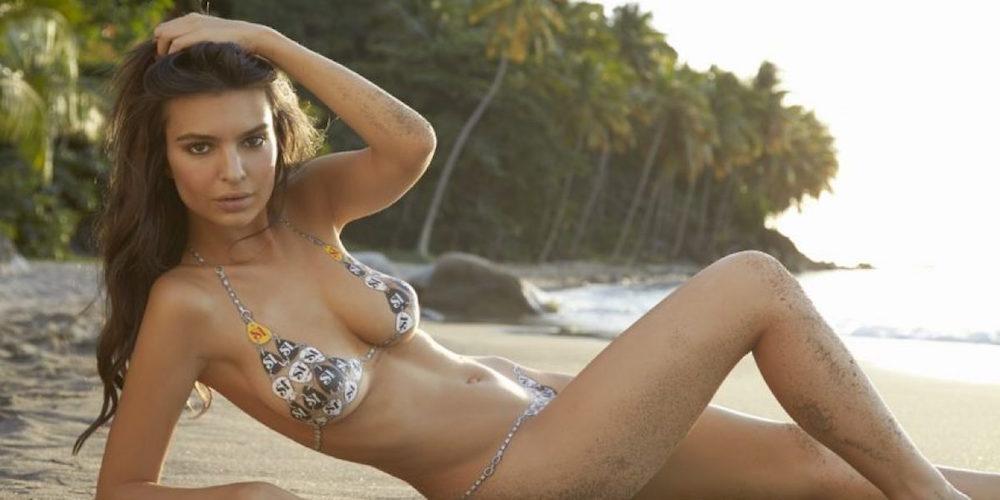 Emily Ratajkowski se desnuda en las playas de México