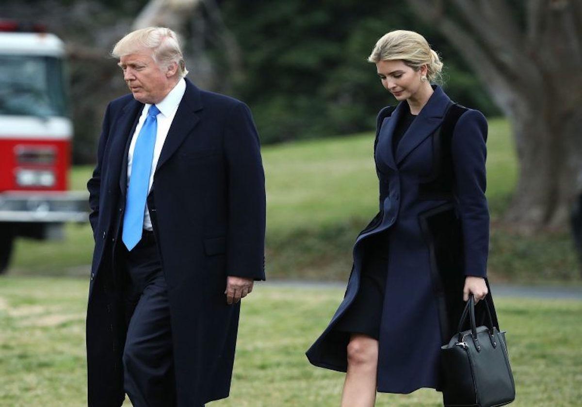 Ivanka Trump ahora es una empleada oficial de la Casa Blanca