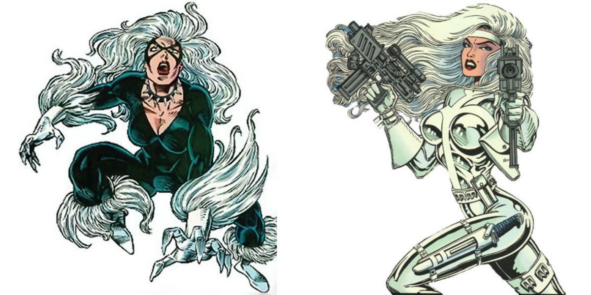Gata Negra Sable de Plata Spider-Man
