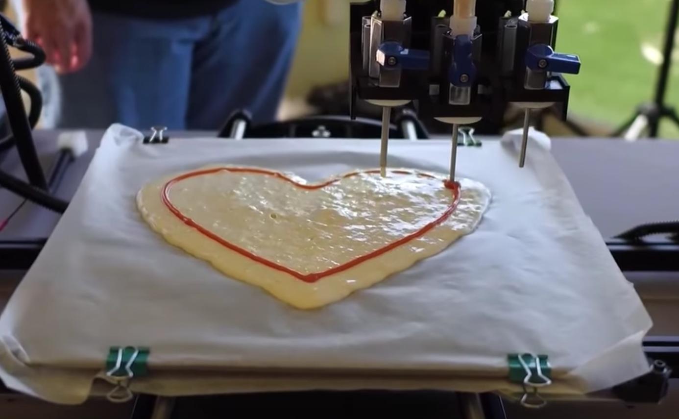 La NASA invirtió en Chef3D, una impresora 3D que hace pizza