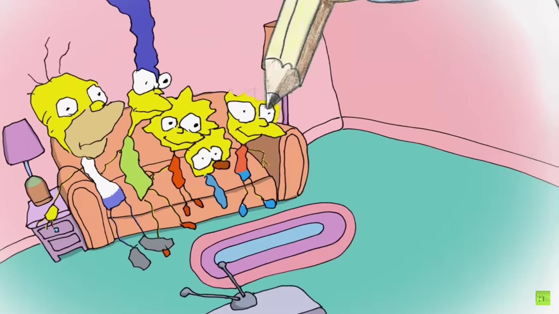 Los Simpson estrenan nuevo intro