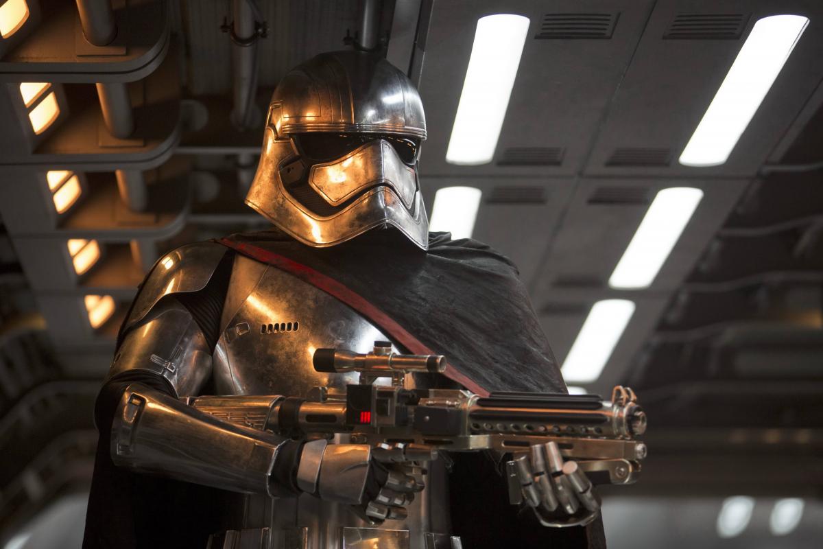 La Capitán Phasma en Star Wars: El despertar de la Fuerza, The Force Awakens