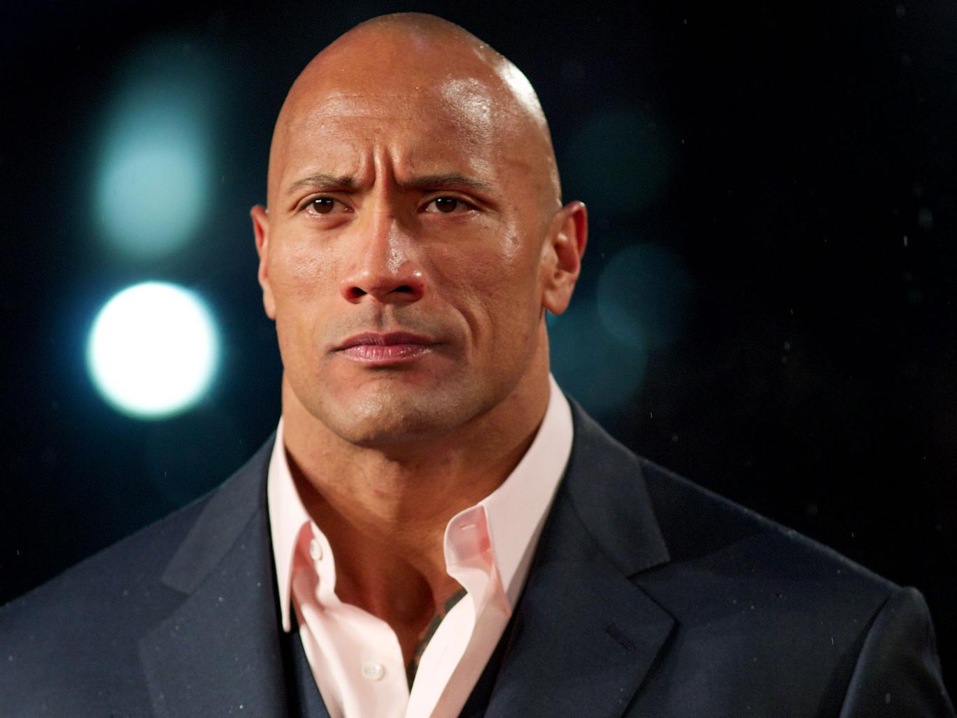 Dwayne Johnson, mejor conocido como The Rock, o la Roca