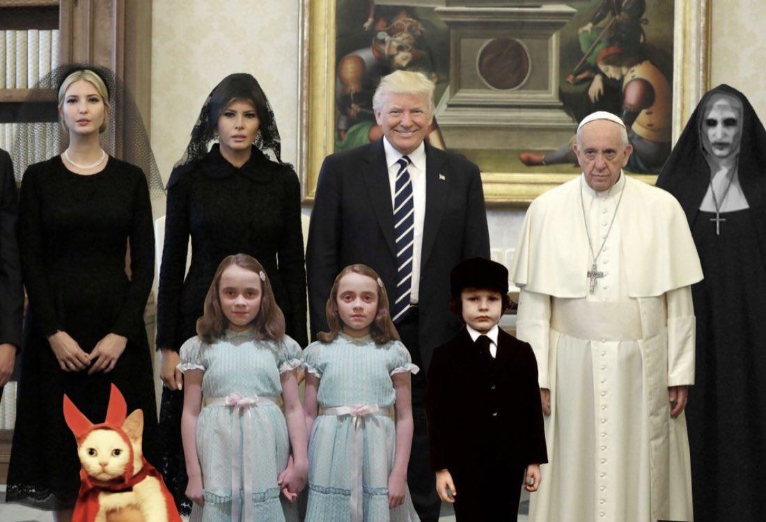 Como para una película de horror