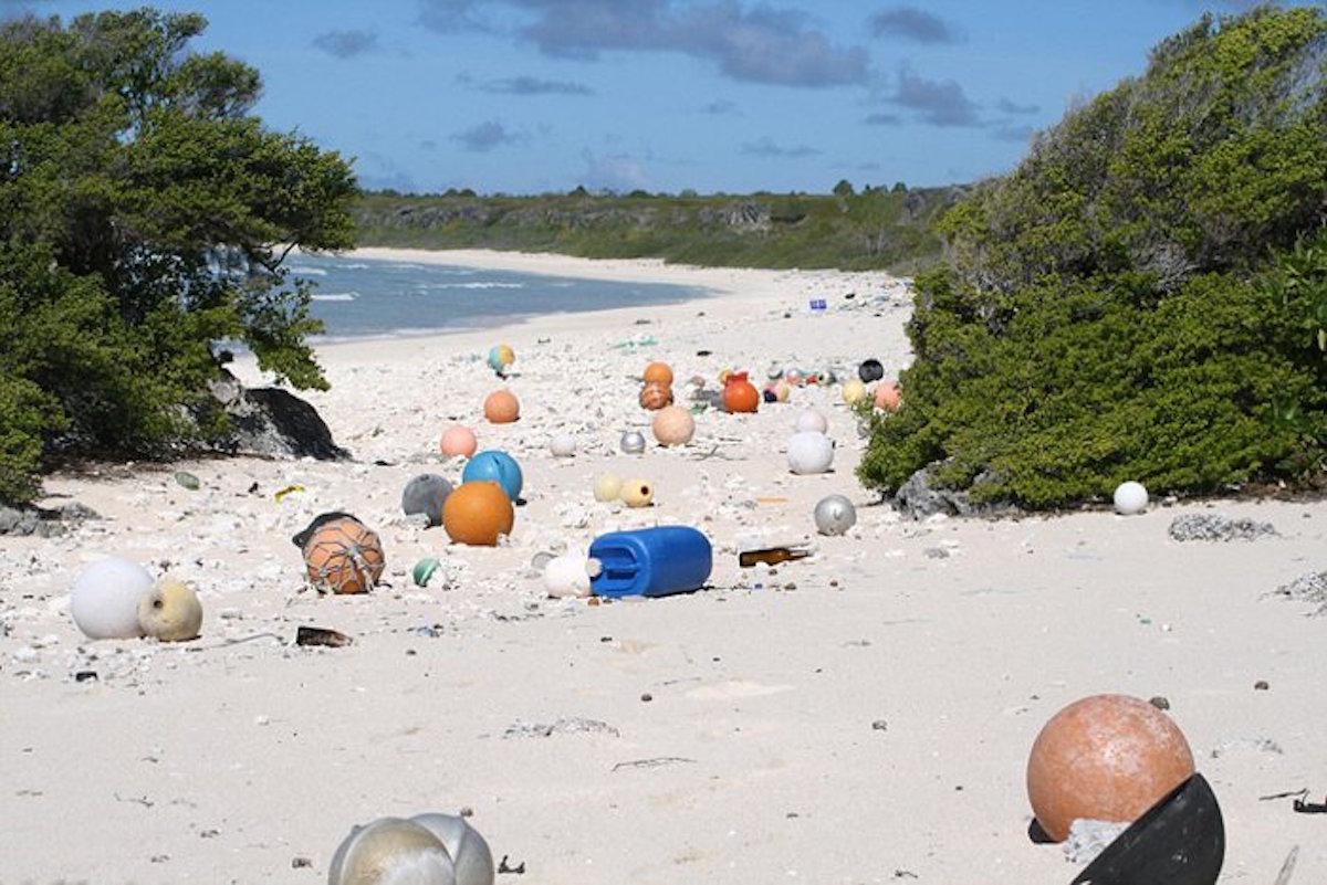 Isla deshabitada del Pacífico es considerada es considerada como el lugar más contaminado del mundo