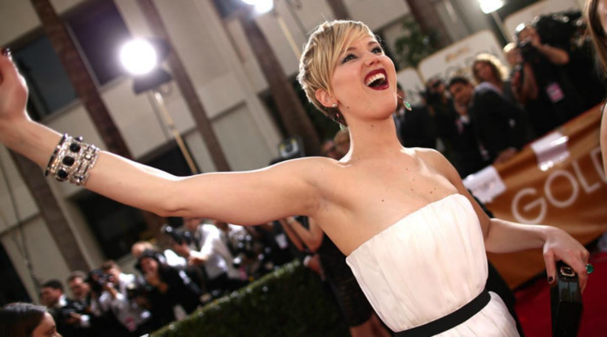 Así respondió Jennifer Lawrence ante la filtración de su video bailando tubo