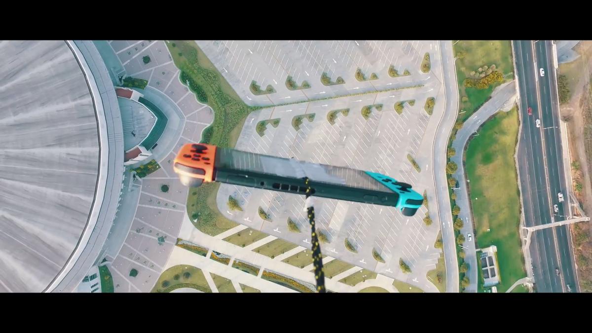 Unluckriver dejó caer una Nintendo Switch desde una altura de 300 metros y sobrevivió
