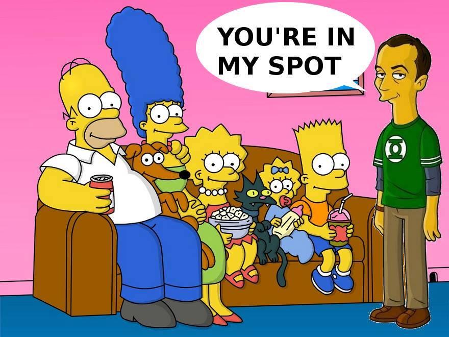 Los Simpson parodian el intro de The Big Bang Theory