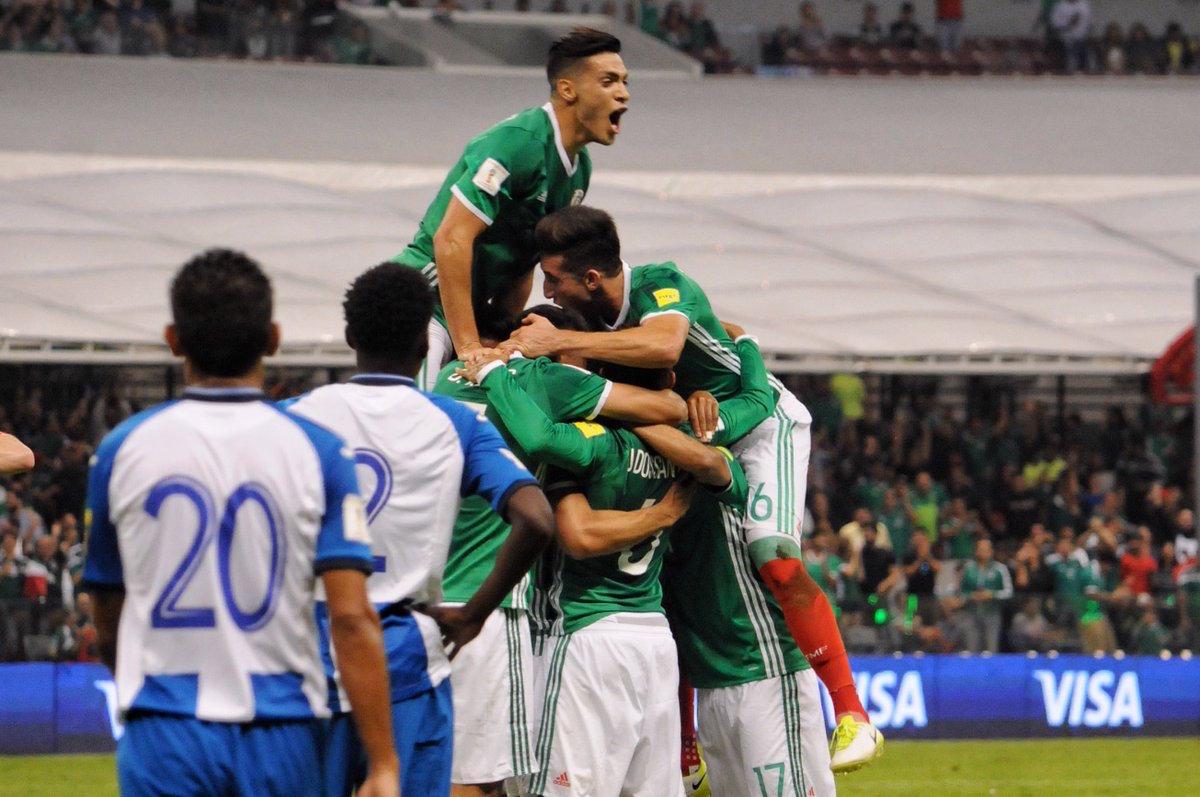La Selección Mexicana vence a Honduras 3-1 y Rusia se ve cada día más cerca