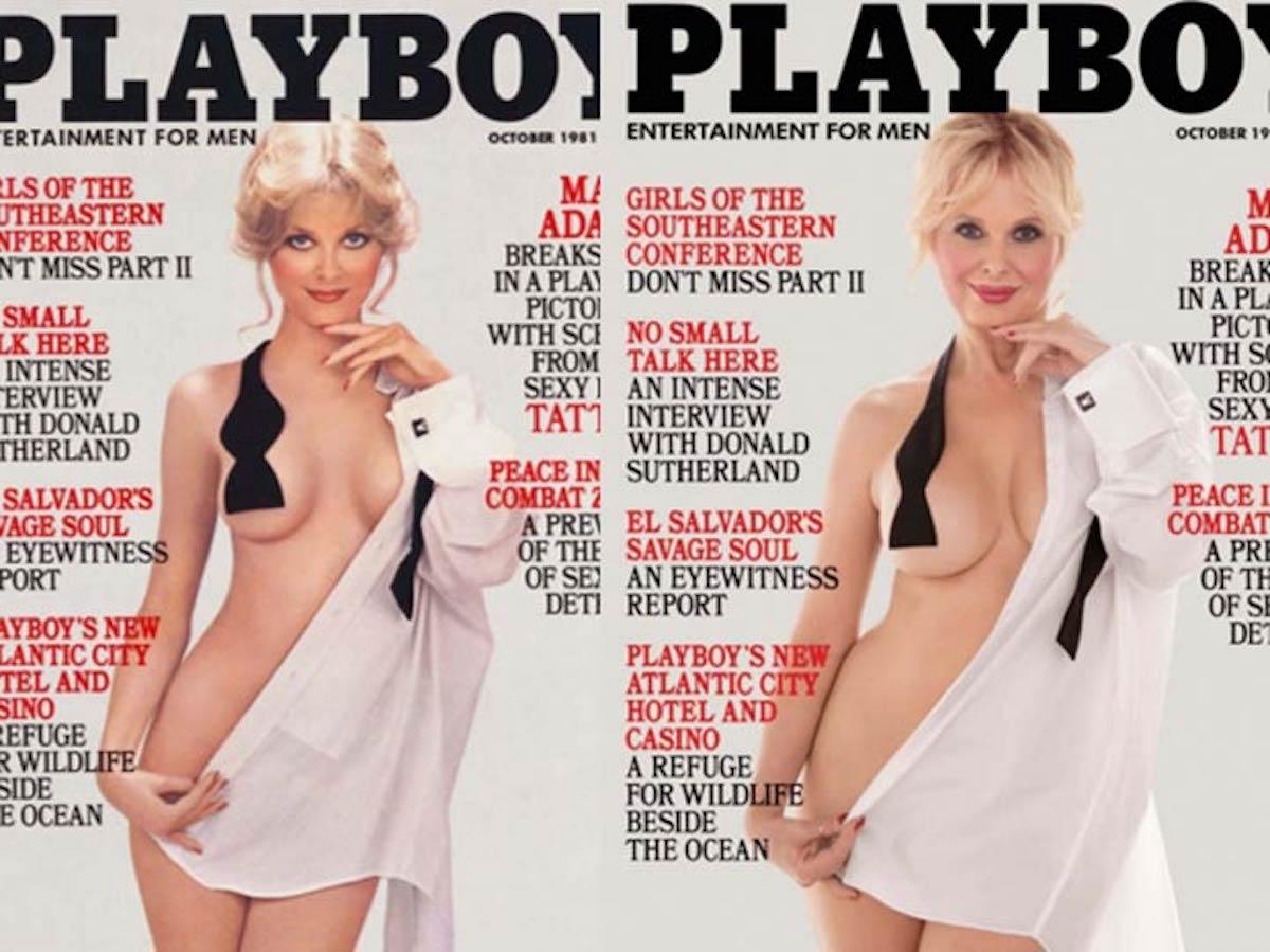 """Playboy y sus """"conejitas"""" recrean portadas de hace treinta años"""