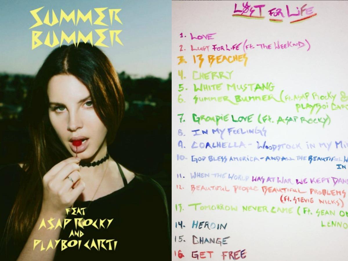 Este 21 de julio llega Lust For Life