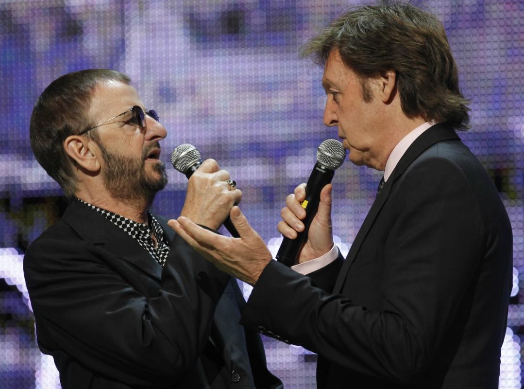 The Beatles, Ringo Starr, Paul McCartney, canción, rock, disco