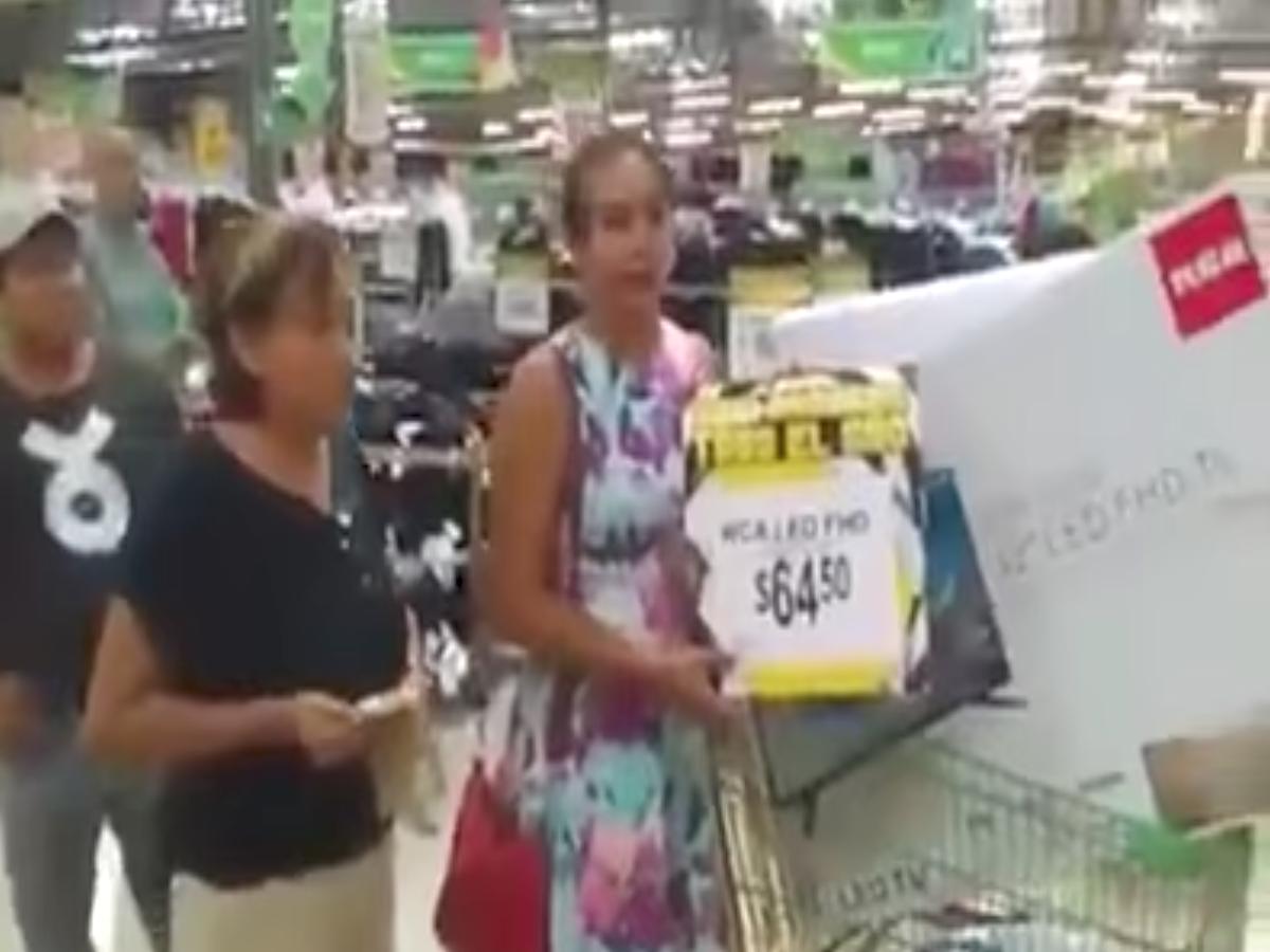 Tienda Aurrera oferta pantallas a un precio de 64 pesos