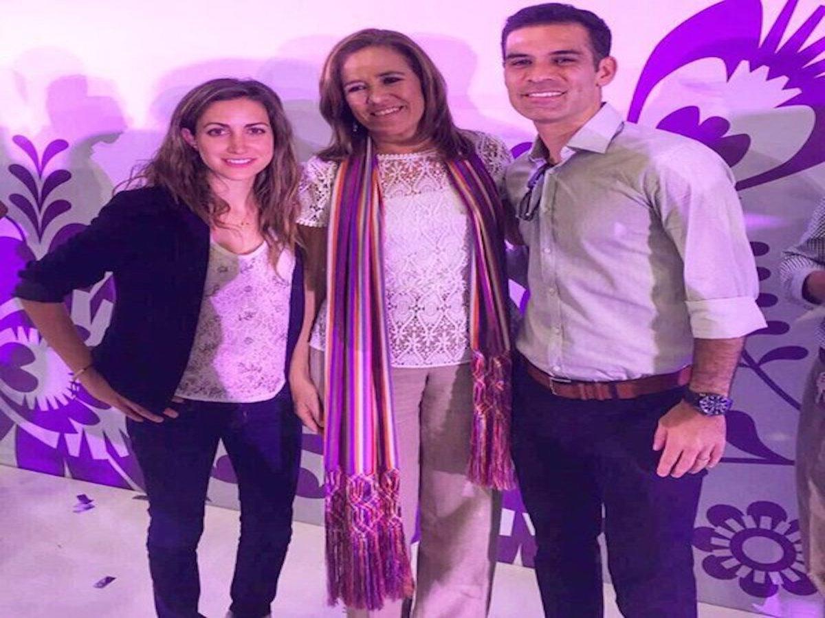 Margarita Zavala borró tuit con Rafael Márquez