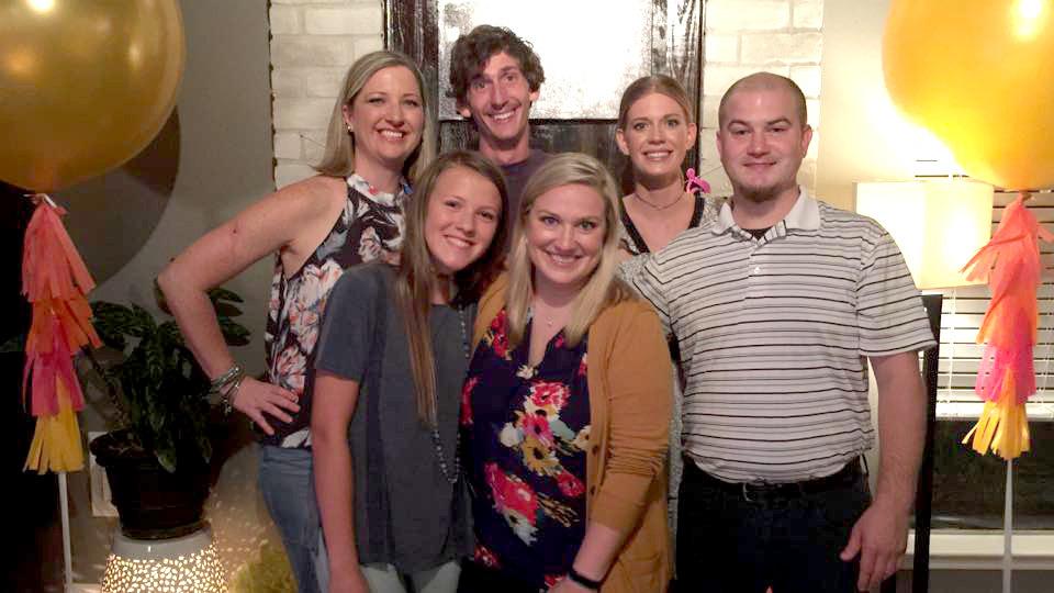 Andrew Pasek y su familia