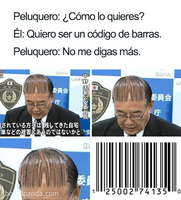 Peinados feos memes