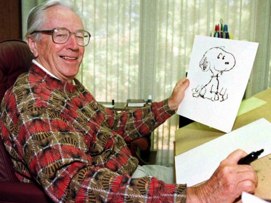 Los incendios de California destruyeron la casa del creador de Snoopy