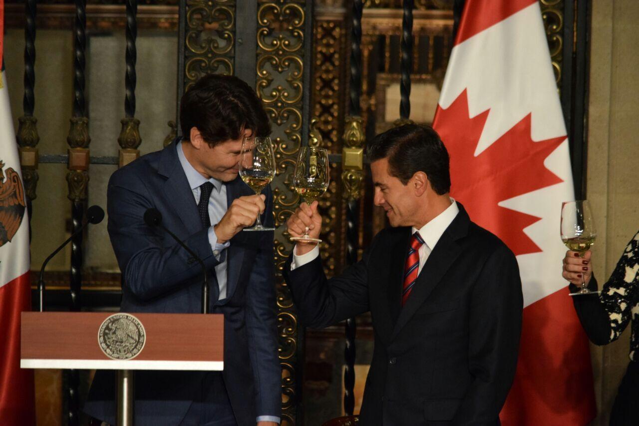Los más vacilador de Justin Trudeau en México