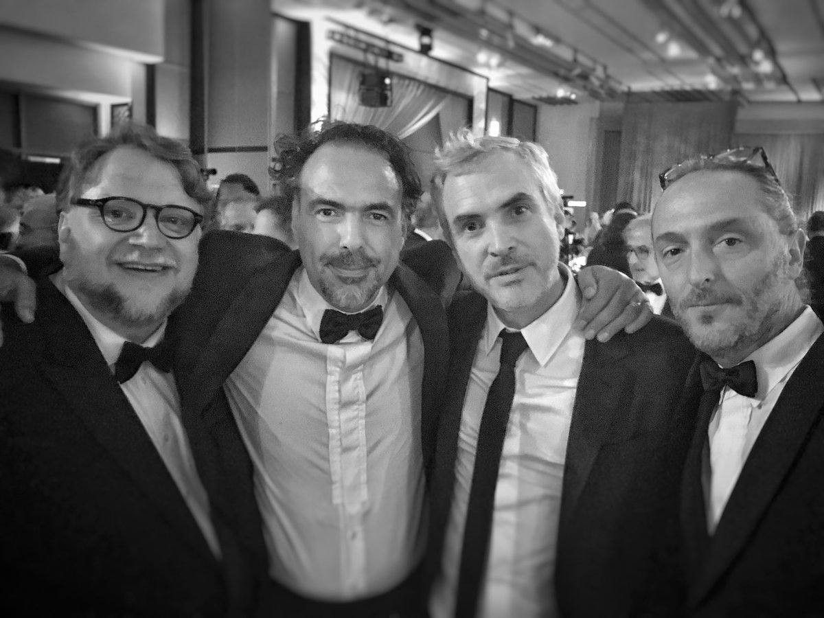 """Iñárritu y Lubezki reciben Oscar honorario por """"Carne y arena"""""""