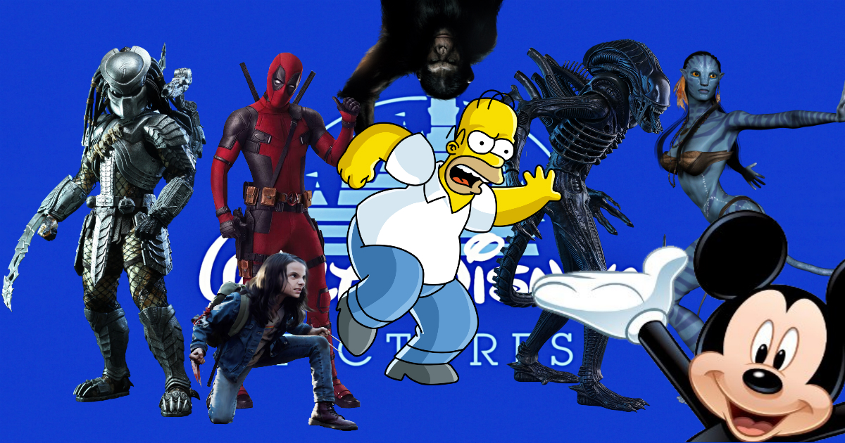 Los Simpsons, X-Men, Fox, Simpsons, Disney, Deadpool