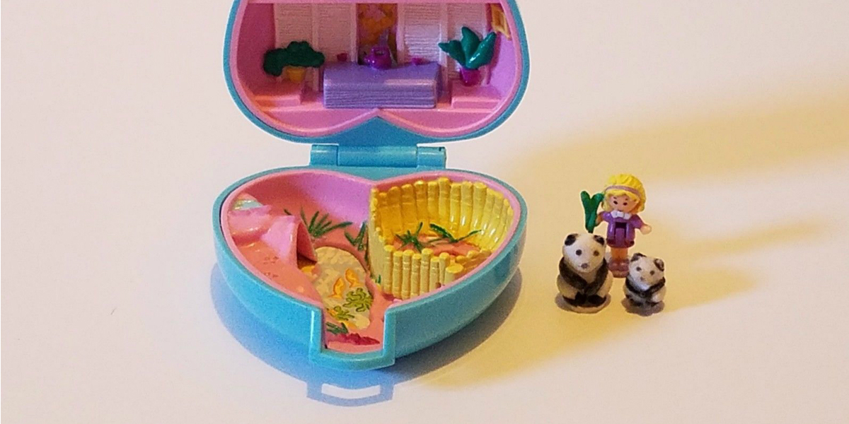 Polly Pocket, Internet, Subasta, Dólares, Dinero, Bluebird, Mattel
