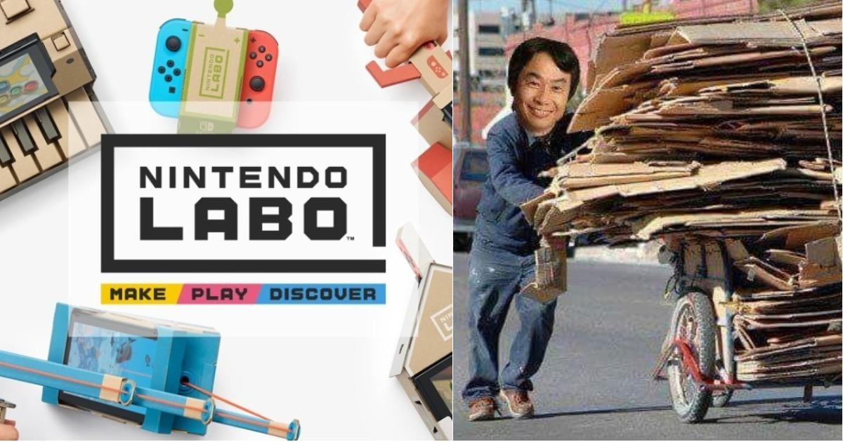 Memes de Nintendo Labo