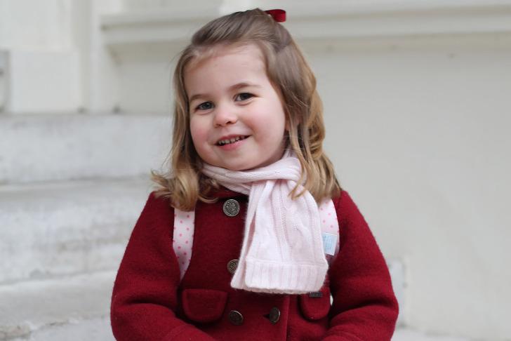 La princesa Carlota Isabel Diana de Cambridge