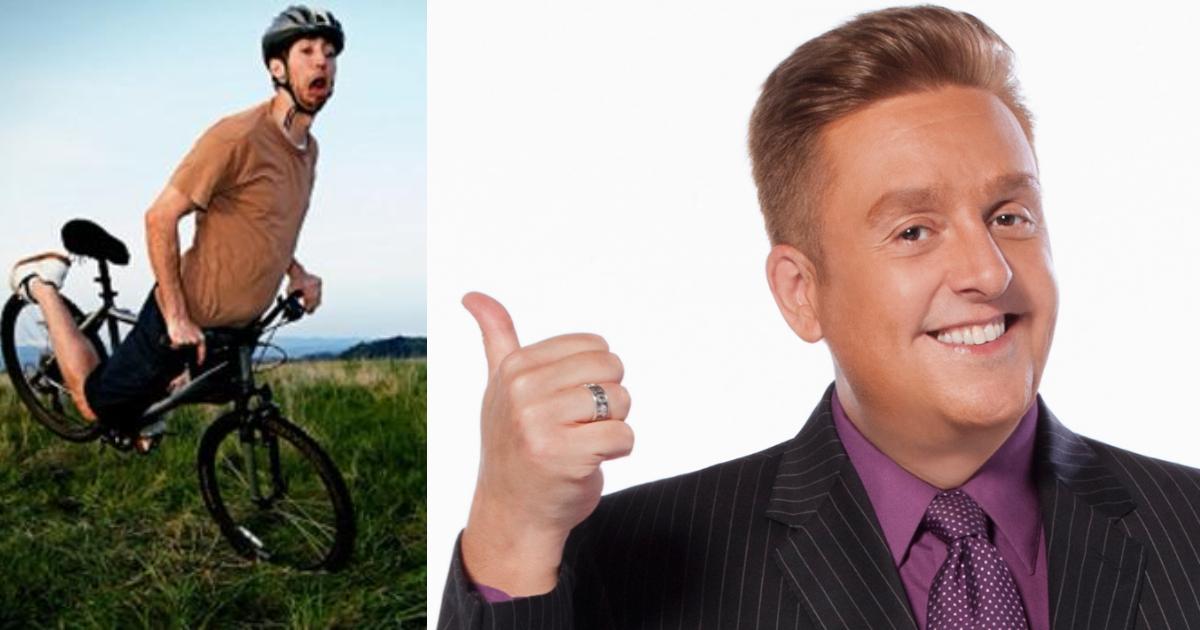 Daniel Bisogno es criticado por broma contra ciclistas