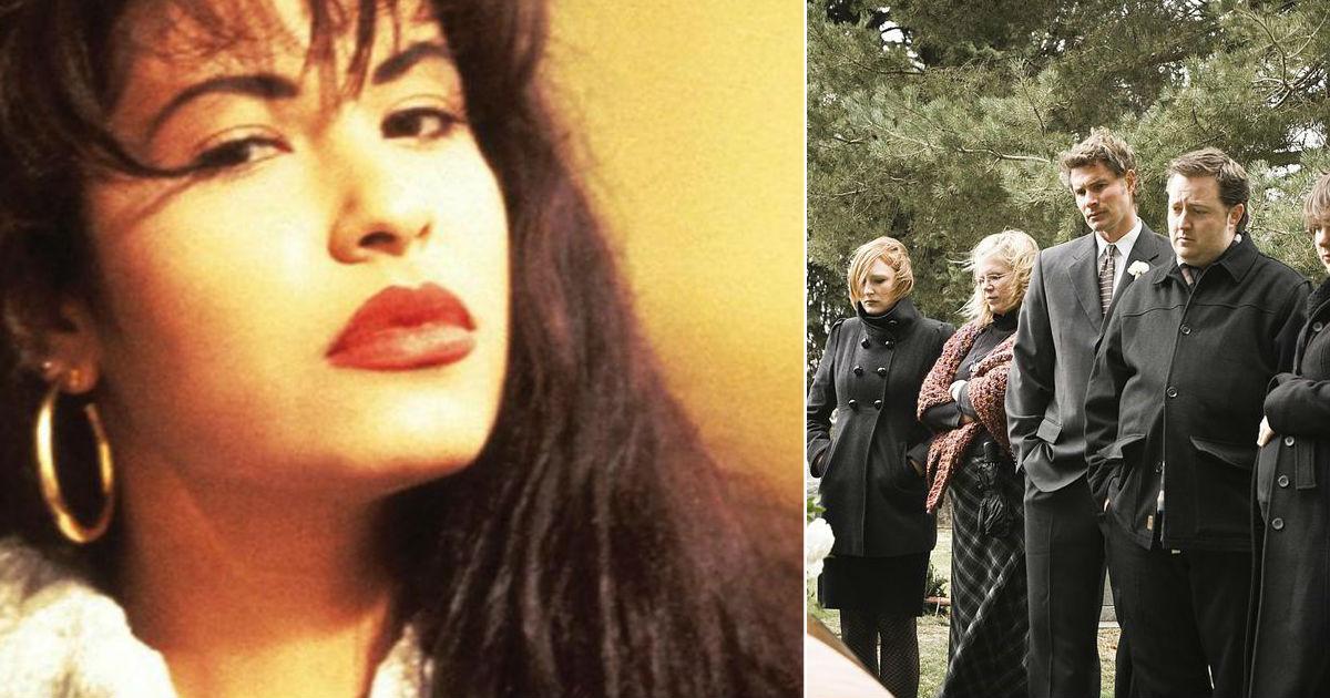 Revelan Supuesta Foto Inédita Del Funeral De Selena Quintanilla