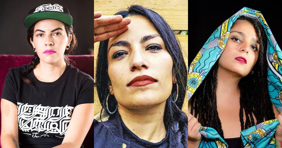 Hip hoperas feministas, Jezzy P, Ana Tijoux, Audry Funk