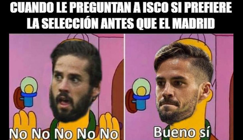 Argentina Espana Memes Goleada Fifa 6 1 Isco