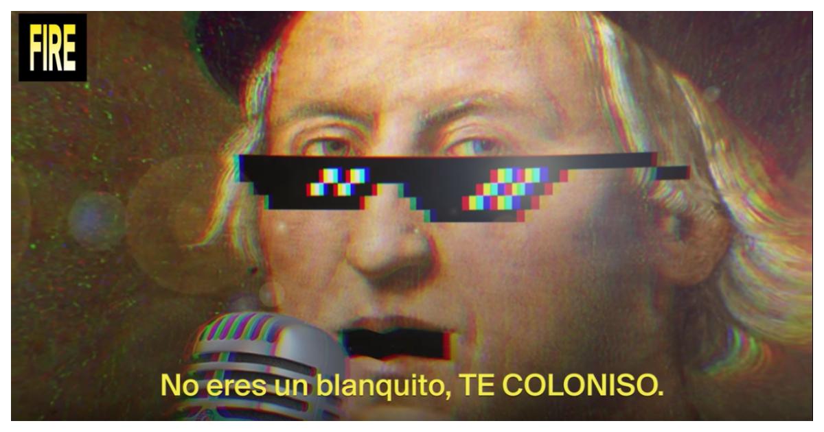cristobal-colon-reggaeton-regueton-te-colonizo-coloniso