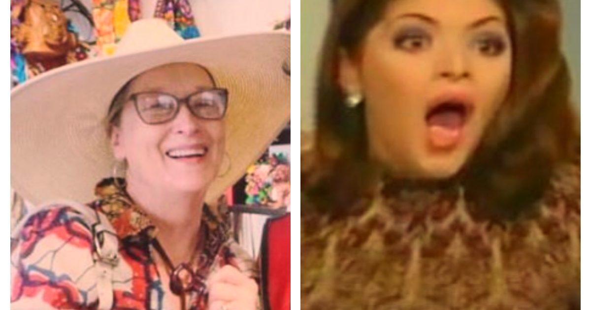 Meryl Streep vino a México y así reaccionó la raza