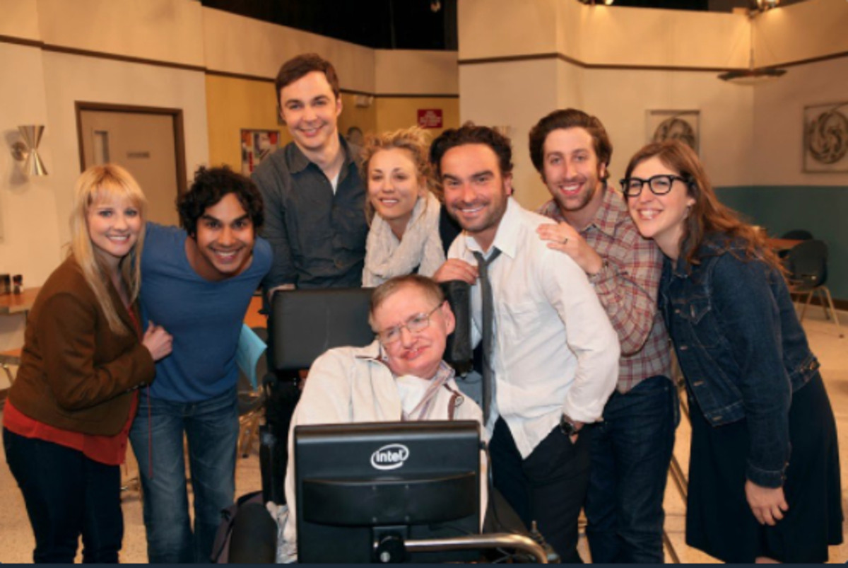The Big bang Theory y Stephen Hawking