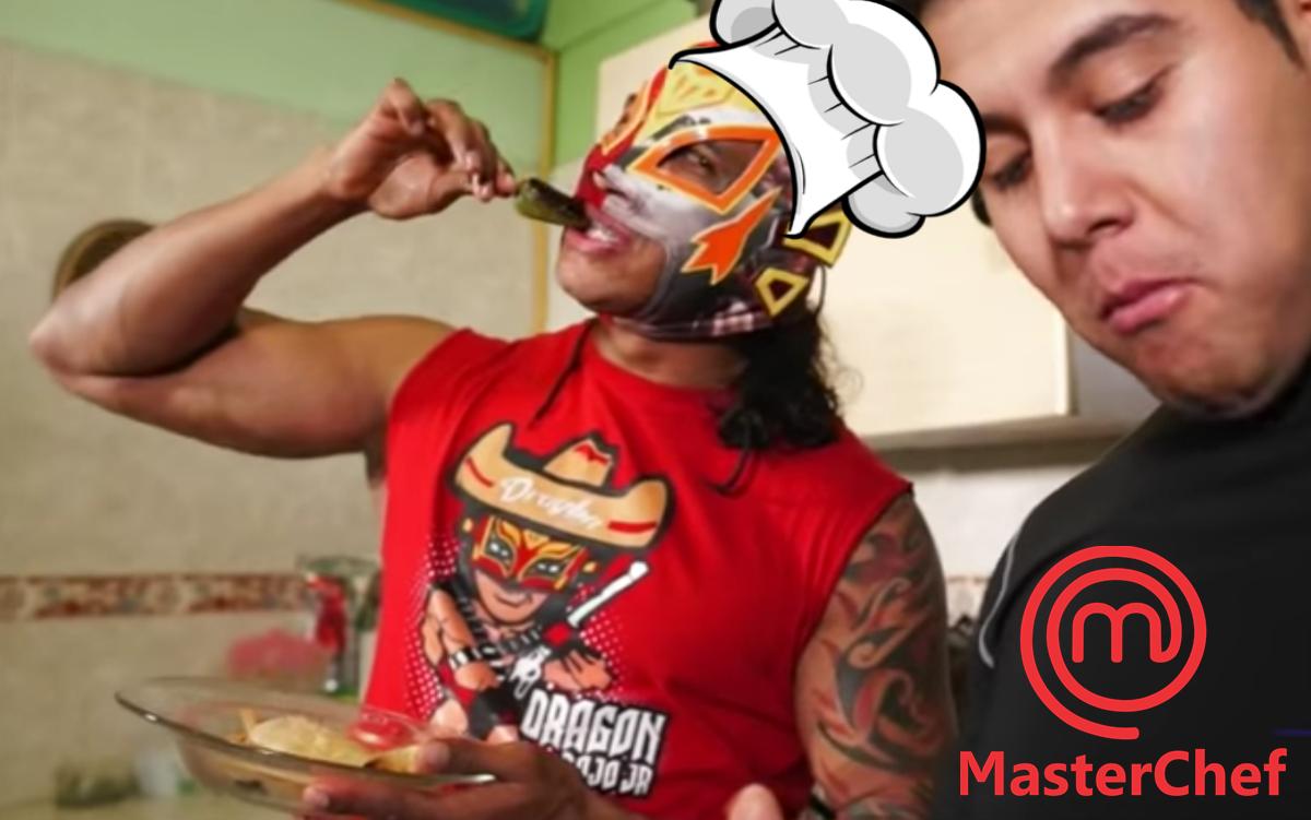 Luchadores mexicanos en master chef