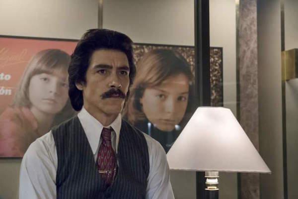 Así luce Diego Boneta en el papel de Luis Miguel