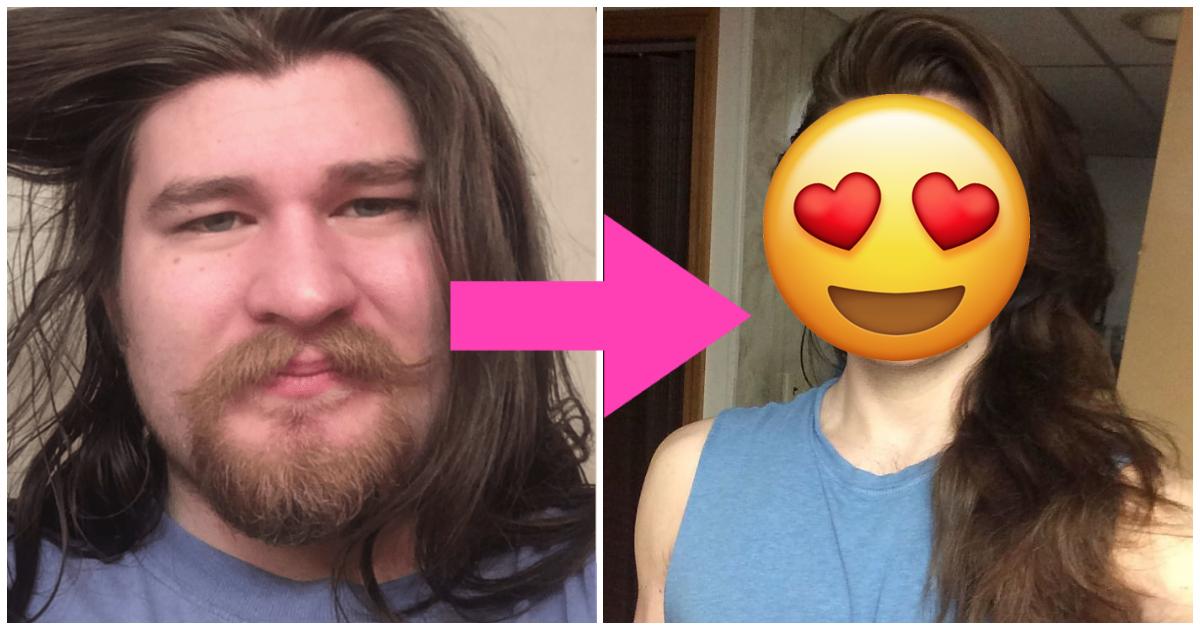Hombre pierde 30 kilos y se parece al príncipe Adam