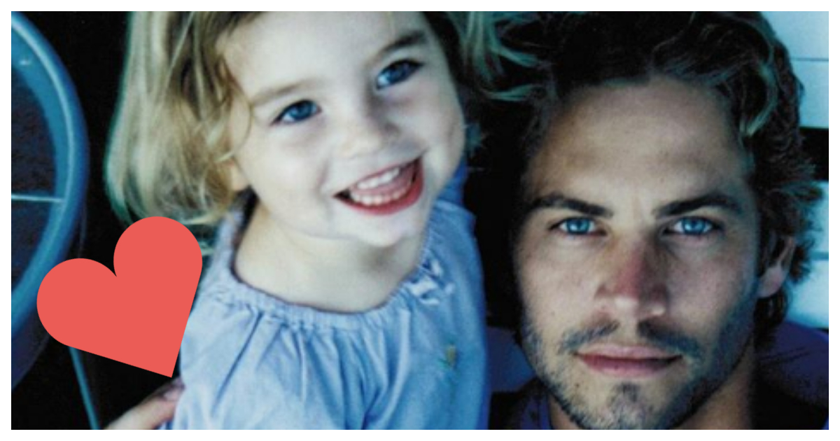 La hija de Paul Walker