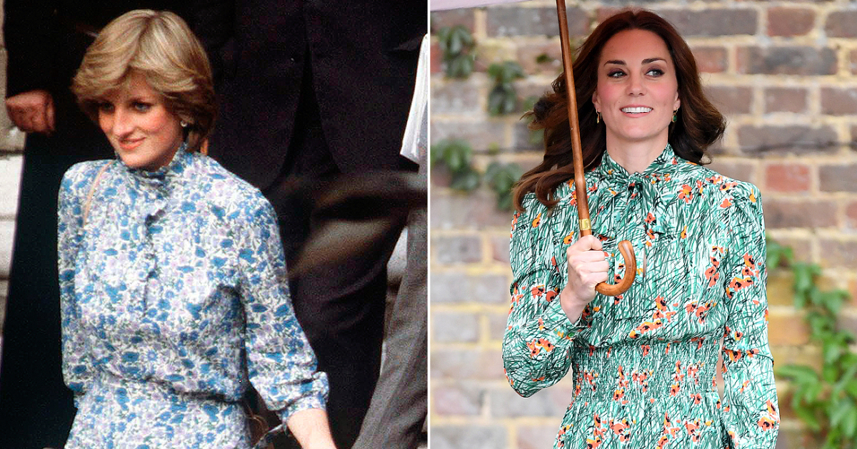 Kate Middleton Princesa Diana Principe William