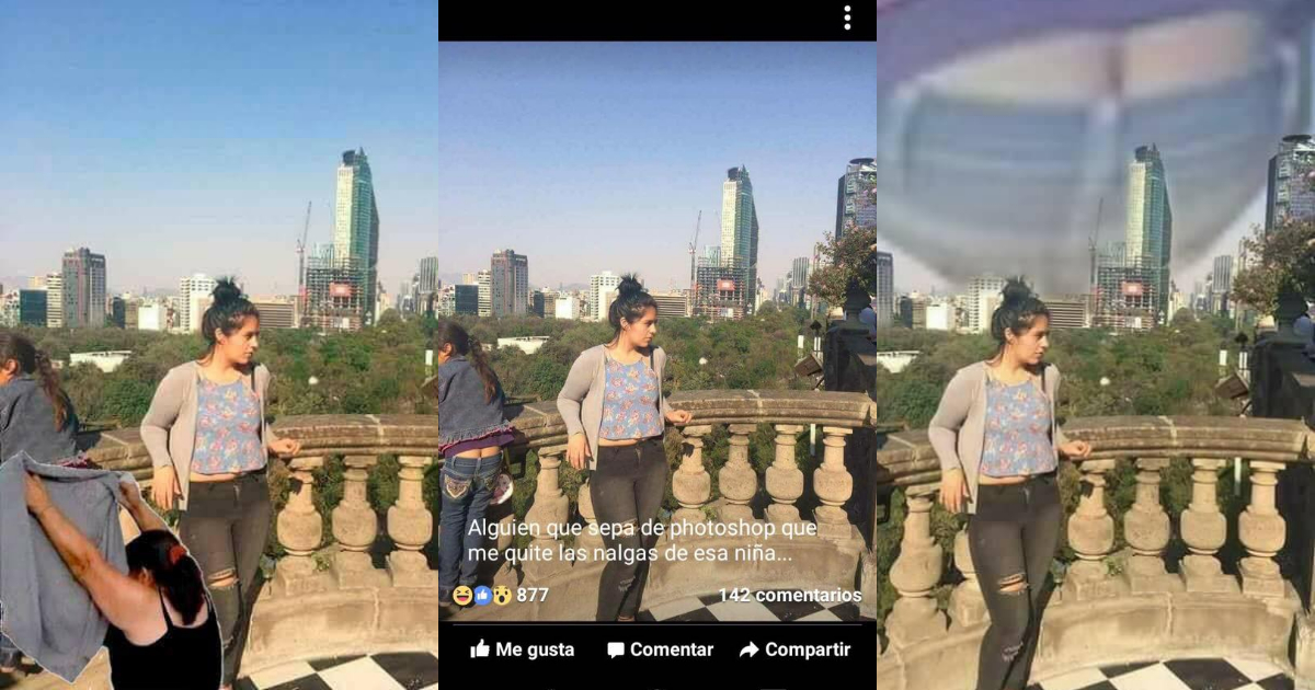 Trasero intruso inspira hermosa photoshop battle en Internet