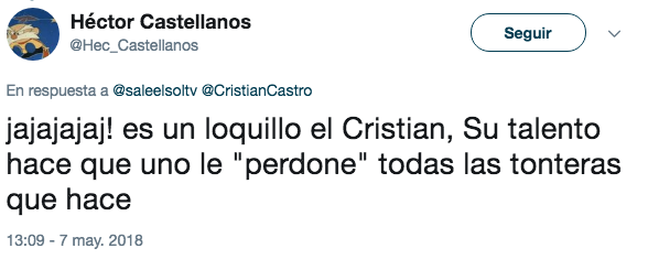 Cristian Castro se quitó la camisa en concierto