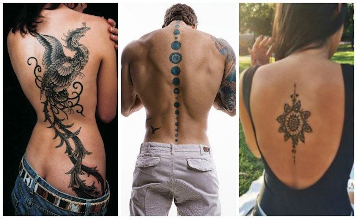 No Creerás Estos 40 Tatuajes Para La Espalda