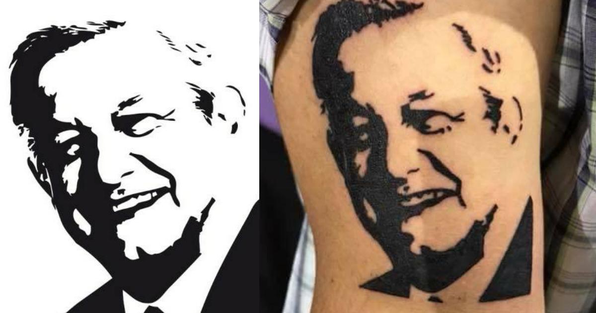 Tatuaje de AMLO