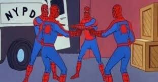 Estos genios recrearon un meme de Spider-Man en el cine y ...