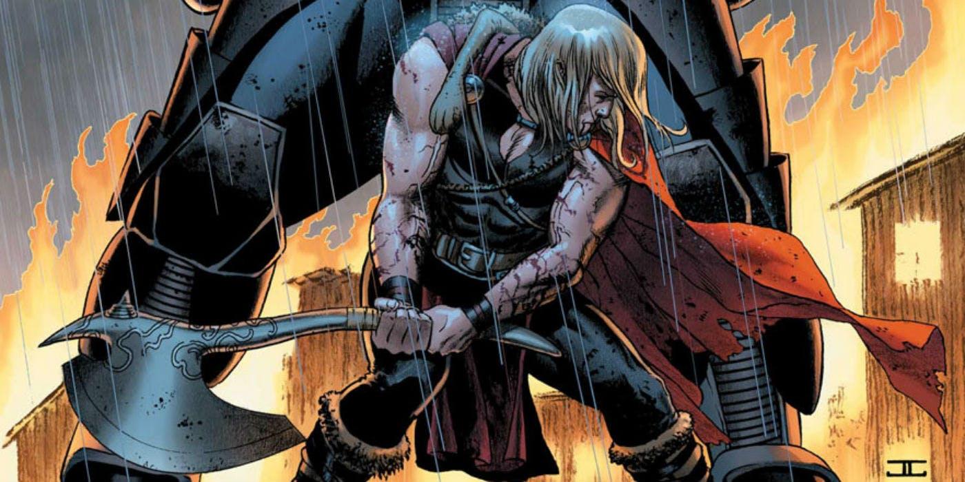 De dónde salió Stormbreaker, el arma de Thor en Avengers